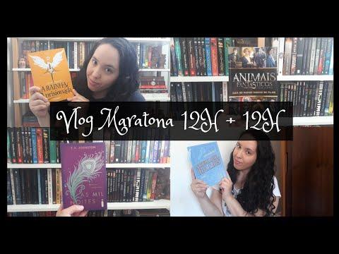 Vlog Maratona 12H + 12H (9ª Edição) | Um Livro e Só