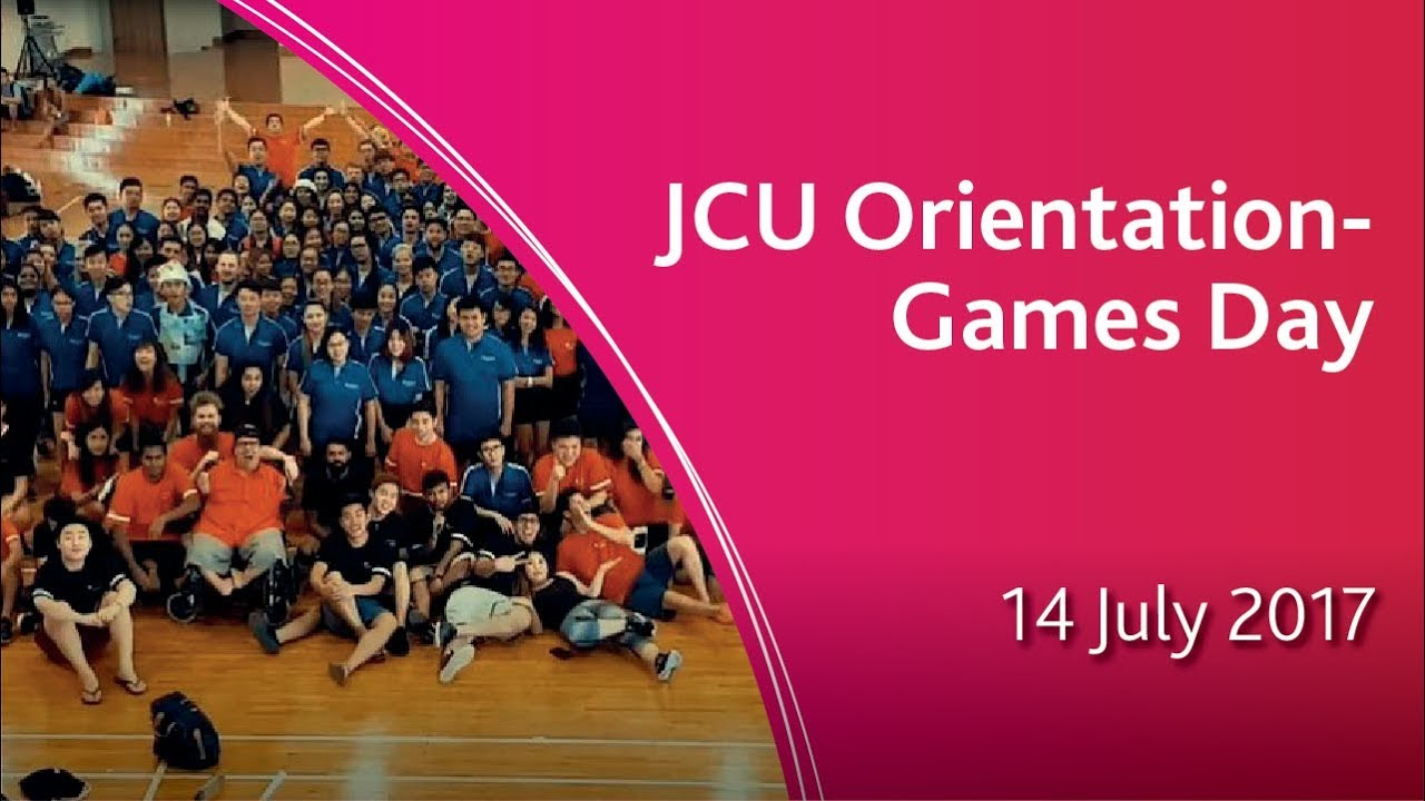 JCU Singapore Orientation - Games Day