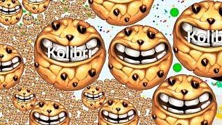 DESTRUCTION MOMENTS EVER IN BLOB.IO MOBILE ( Game Like Agar.io Mobile )