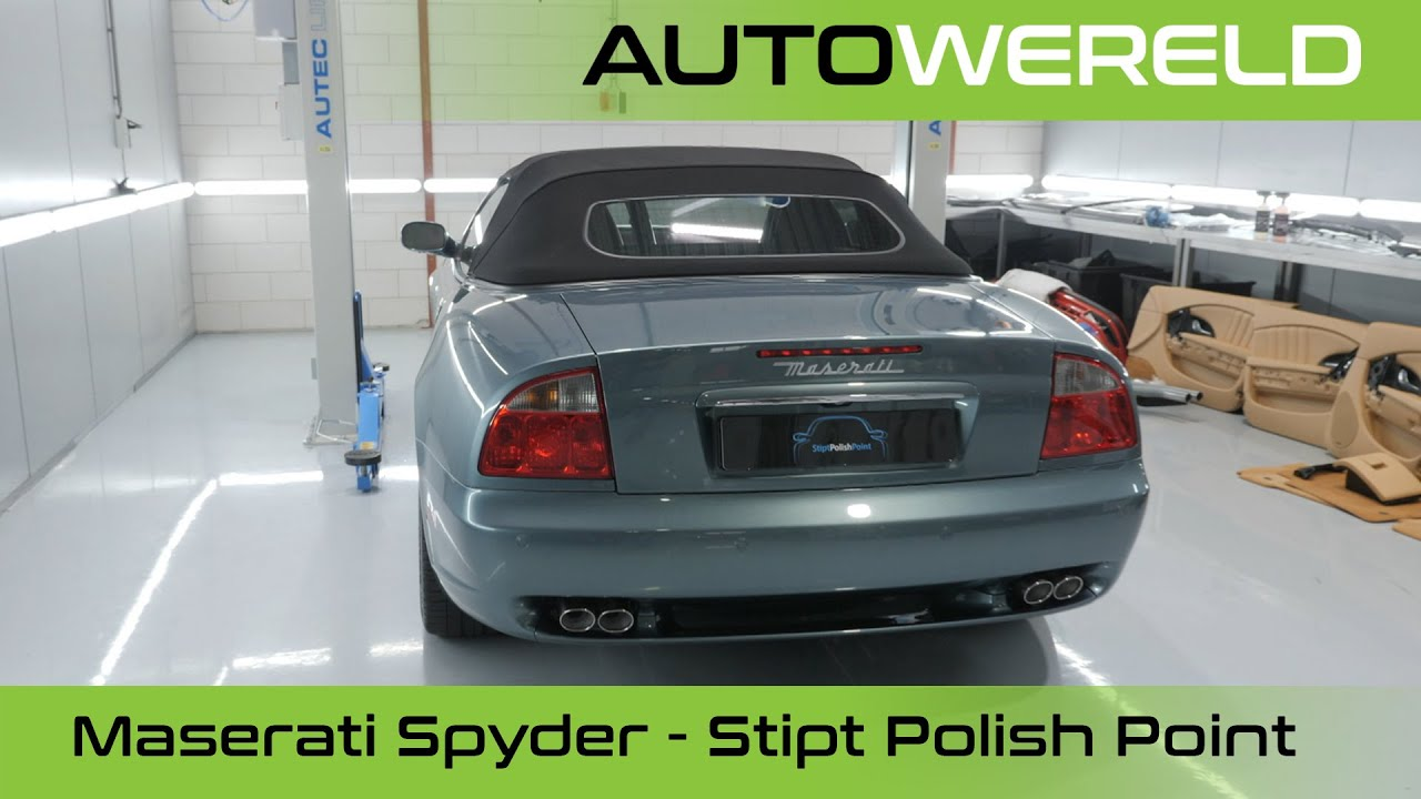 Maserati Spyder – Stipt Polish Point