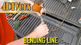 How to Easily Bend a Brake or Fuel Line