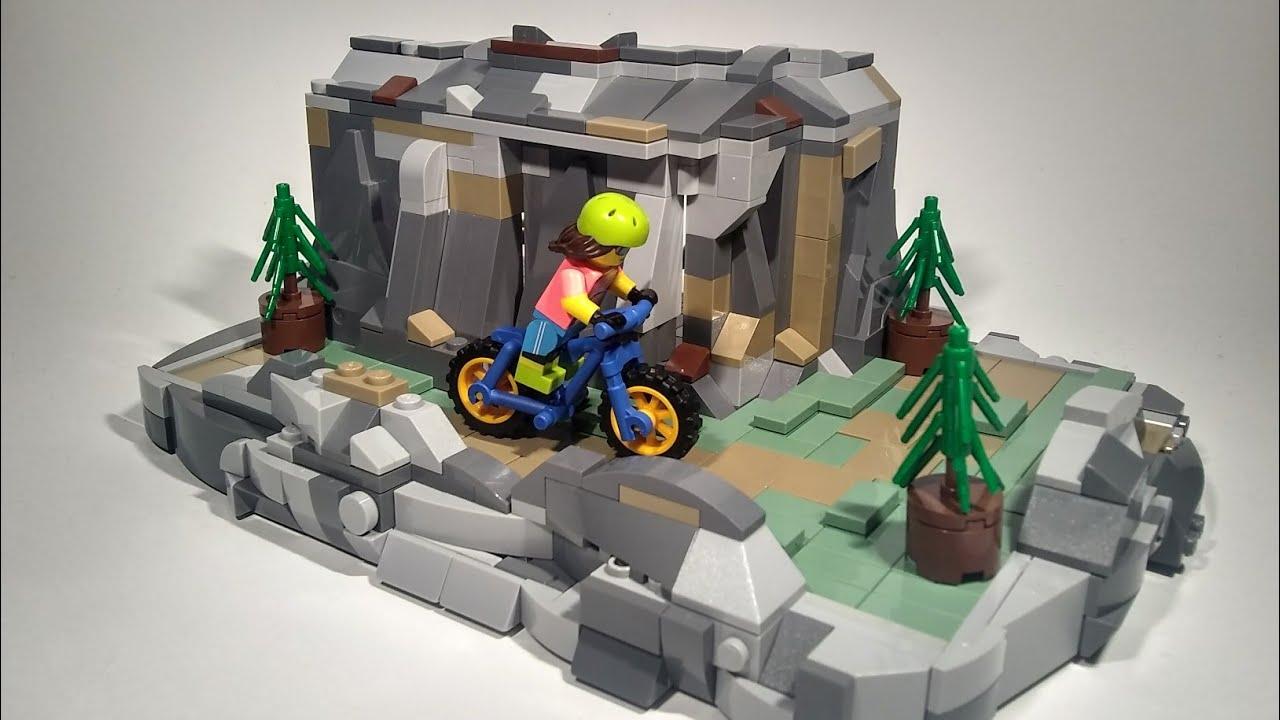 Lego Mountain Bike Trail MOC 🚵♀️