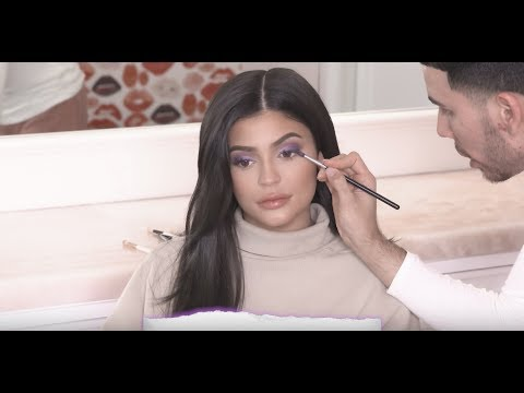 Kylie Introduces the New Kylie Cosmetics Purple Palette