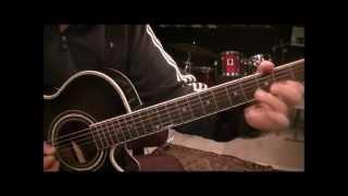 Tesla - Little Suzi - Acoustic Guitar Lesson by Mike Gross