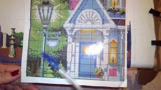 58# Викторианский шарм или Ведьмин домик  /Копия Dimensions/Алиэкспресс/Вышивка крестиком