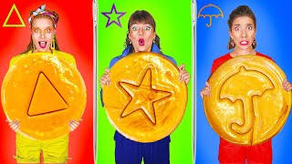 SQUID GAME Honeycomb Candy Challenge! Best Challenges & Mukbang by KABOOM!