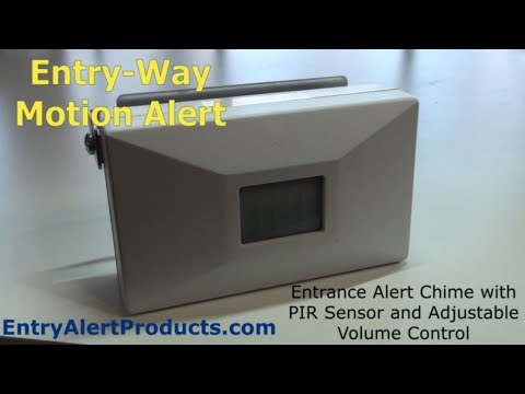 Entry Way Alert | Rodann SL40 | Self-Contained | Battery Powered Review (demo)