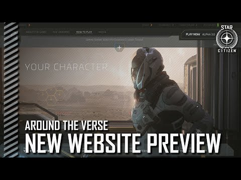 Star Citizen: Around the Verse – New Website Preview