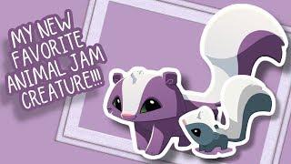 Animal Jam brings Adorable Skunks