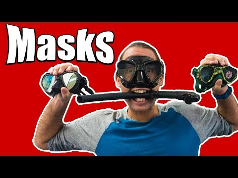 MASKS for Freediving | SNORKELS for Freediving | Everything you Need to Know