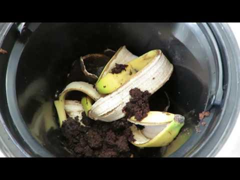 Der einfachste Kompost der Welt - Kompostieren ohne Arbeit mit der Komposttonne / Teil 1