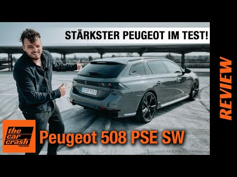 Peugeot 508 PSE SW (2021) Tschüss GTI: Plug-in Hybrid Kombi mit 360 PS! Fahrbericht | Review | Test