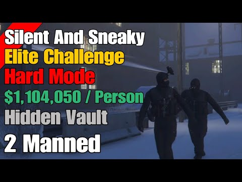 Gta Online Diamond Casino Heist (Silent And Sneaky) Our Smoothest Run Ever!