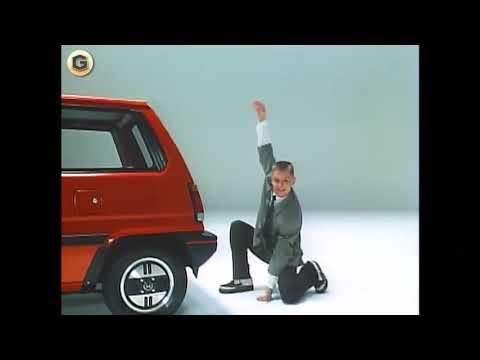 In 1981, Honda made a hatchback with an integrated 49cc scooter, and this was the commercial
