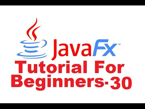 JavaFx Tutorial For Beginners 30 – Event Handler for a Line Chart examples