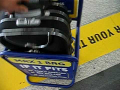 Ryanair hand baggage - SEE IF IT FITS