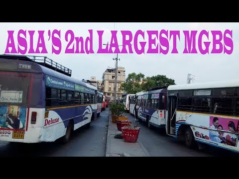 ASIA'S 2nd LARGEST RTC BUS STATION MGBS STARVING TO ESCAPE FROM TRAFFIC JAM