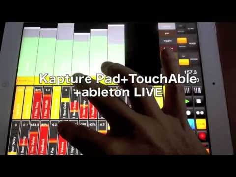 Touchable iOS app (Ableton Live controller), thoughts