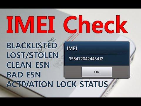 Phone IMEI Check