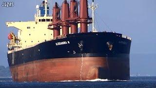 ALESSANDRA M Bulk Carrier バラ積み船 Norfes-Marine Service 関門海峡