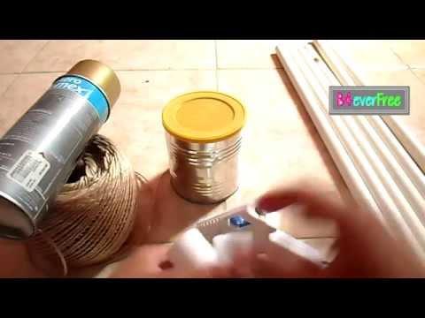 DIY Arma un colgador para ropa con PVC| Pan comido ;)