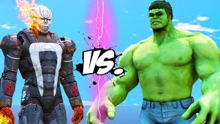 IRON MAN - GHOST RIDER VS HULK - EPIC BATTLE