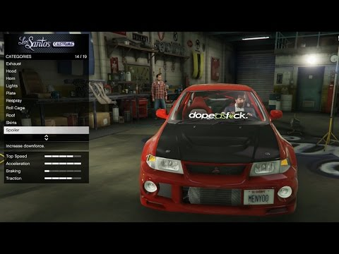 GTA 5 Real Car Mod - The Evo 6 Build