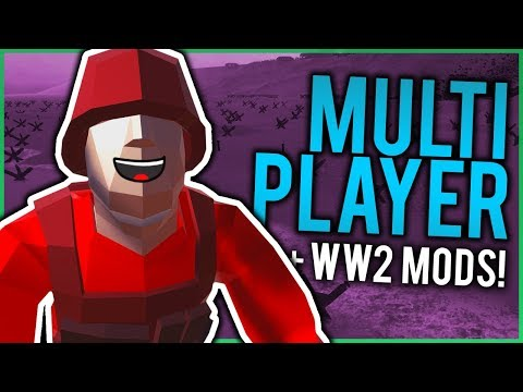 RAVENFIELD MULTIPLAYER + WW2 MODS! | RF:MP Mod Gameplay