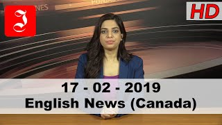 News English Canada 17th Feb