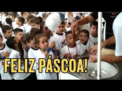 Com Pablo e dupla da base, Corinthians recebe crianças em festa no PSJ
