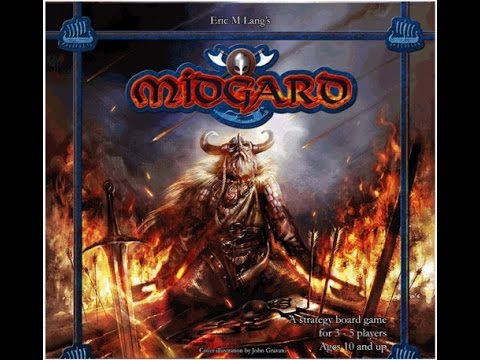 The Purge # 1341: Midgard: Vikings, battles, fighting for area and an awful lot like a more cost effective Blood Rage