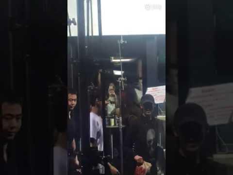 170607 Kris Wu McDonald's Advertisement filming in Beijing