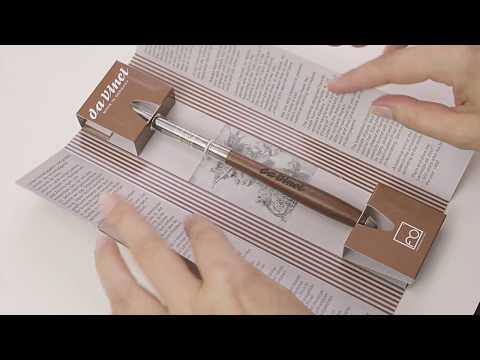 da Vinci SILVER PEN Traditioneller Aquarellpinsel