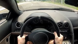 POV Drive: Lamborghini Murcielago (6 Speed Gated Manual)