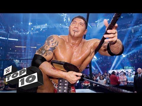 WrestleMania moments of Royal Rumble Match winners: WWE Top 10 (видео)
