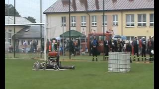 preview picture of video 'Zawody strażackie Wąsewo 2012  Ćwiczenie bojowe OSP Wysocze'