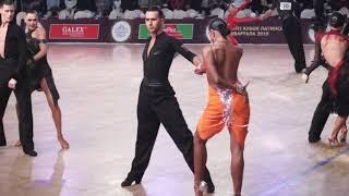Sergey Litvinov - Anna Anufrieva Samba / Latin Kvartal 2019 Amateur Latin