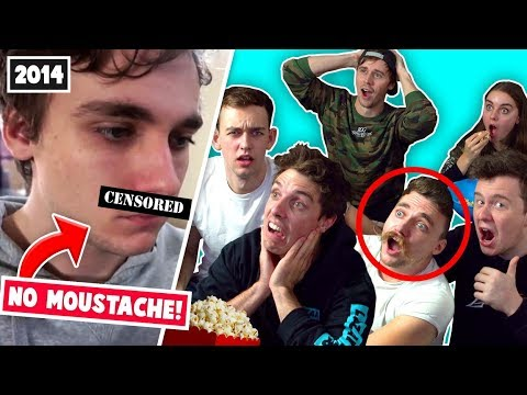 CLICK REACTS TO THEIR OLD VIDEOS!