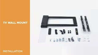 PLB-M03G Panning Motorized TV Wall Mount with Remote Controller Installation Video