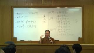 2014_05_17 國語佛學初級班: 唯識學入門2 永固法師主講