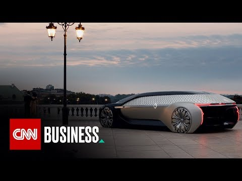 This Renault concept car is a lounge on wheels