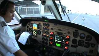 ENGINES START AND TAXI KING AIR 90 (READ DESCRIPTION PLEASE)