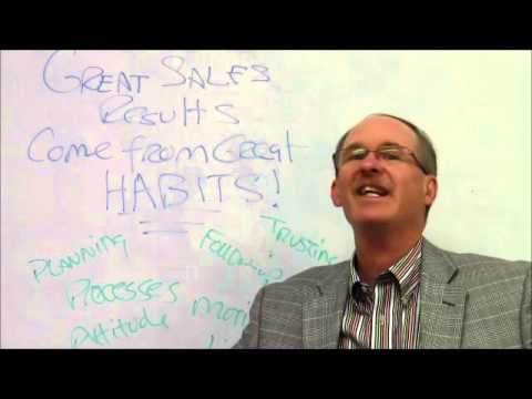 Great Sales Results Come From Great Habits, A Lesson on Sales