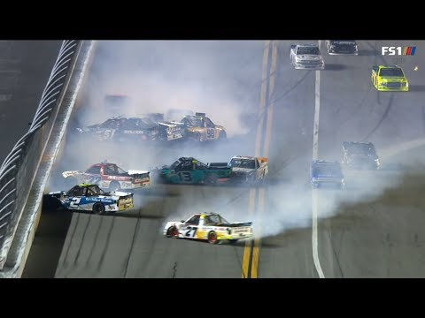 NASCAR Gander Outdoors Truck Series 2019. Daytona International Speedway. Big One