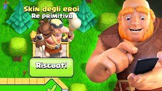 PRENDIAMO la NUOVA SKIN KING PRIMITIVO! - Clash of Clans