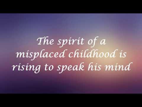 Marillion - Pseudo Silk Kimono (Lyrics) [HQ]
