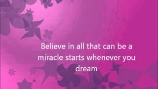 Barbie and the diamond castle - Believe lyrics