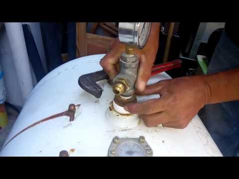 Fabricación casera de compresor de bajo costo parte 1