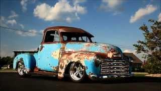 Crazy Horse 1951 Slammed Patina Resotmod 3100 Chevrolet Shop Truck Hot Rod FOR SALE