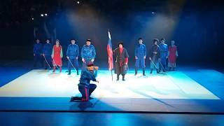 """Фестиваль национального спорта и боевых искусств, выступление казаков федерации """"Перначъ"""""""